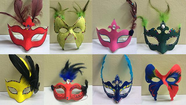 《假面舞会》——少儿手绘面具展
