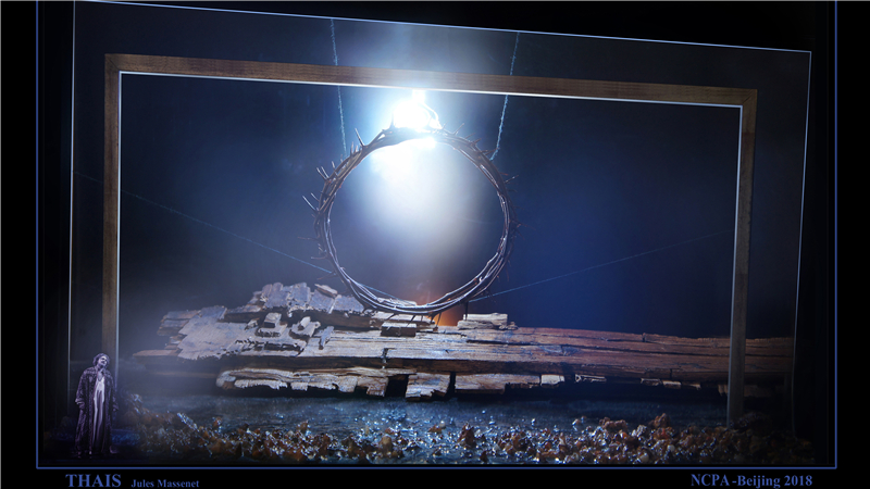 舞美设计,服装设计的国家大剧院制作歌剧《泰伊思》将于2月2日至6日